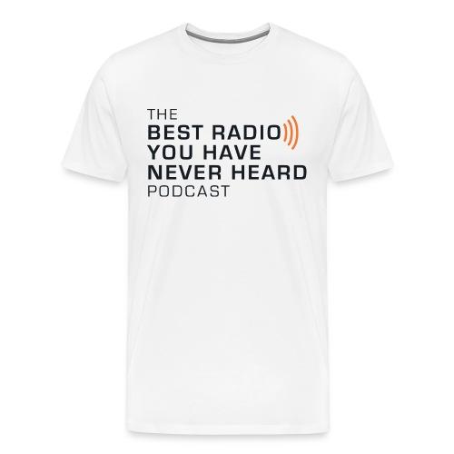 Basic white 2-sided heavyweight tee - Men's Premium T-Shirt