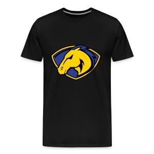 Go Hard or Go Home Black T-Shirt - Men's Premium T-Shirt
