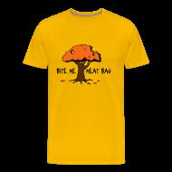 T-Shirts ~ Men's Premium T-Shirt ~ Bite Me, Meat Bag