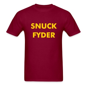 snuck Fyder - Men's T-Shirt
