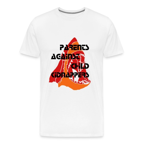 Parents Against Child Kidnappers 1 - Men's Premium T-Shirt