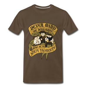 Never Mind Ye Bollards - Men's Premium T-Shirt
