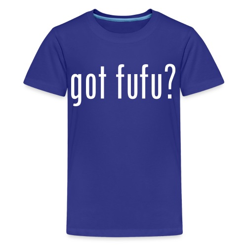 got fufu - Boy's Tee - Turquoise / white - Kids' Premium T-Shirt