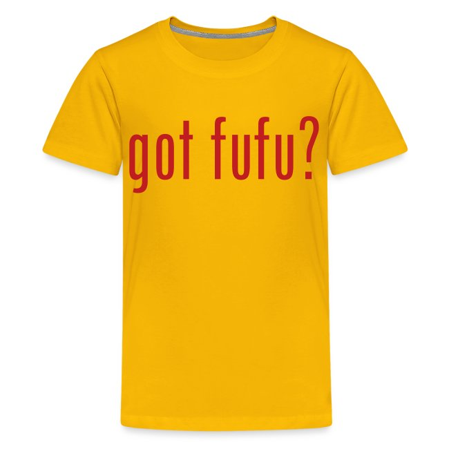 got fufu - Boy's Tee - Yellow / Red