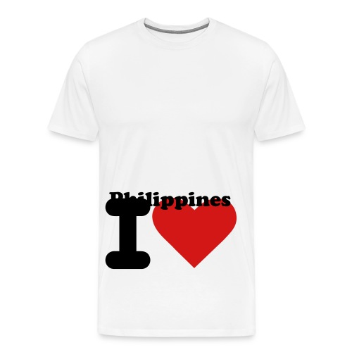 i love philippines shirt - Men's Premium T-Shirt