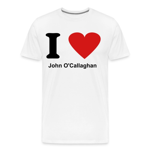 I love John O'Callaghan - Men's Premium T-Shirt