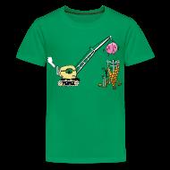 Kids' Shirts ~ Kids' Premium T-Shirt ~ Building ice cream coke- kids shirt