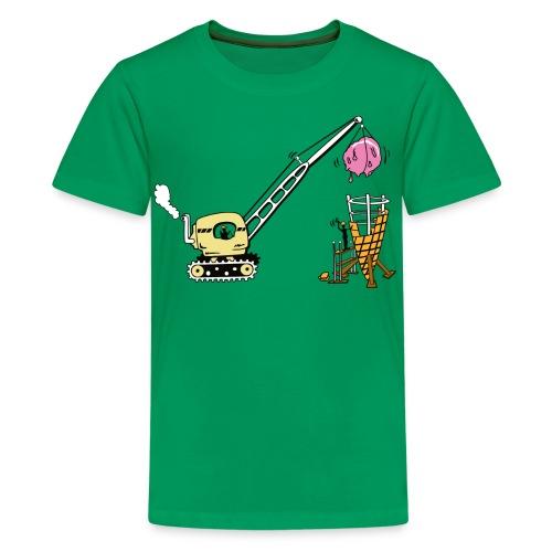 Building ice cream coke- kids shirt - Kids' Premium T-Shirt