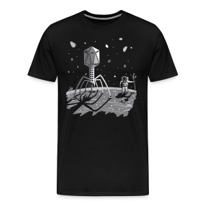 The ebola has landed - Men's Premium T-Shirt