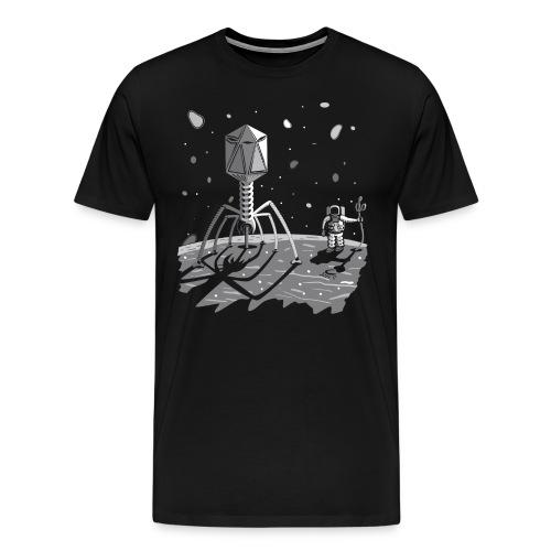 The ebola has landed - Men's Premium T-Shirt