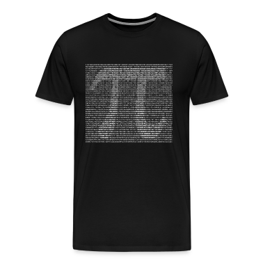 Black Pi by Numbers T-Shirts