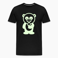 Glow in the dark - Ice Cream Panda