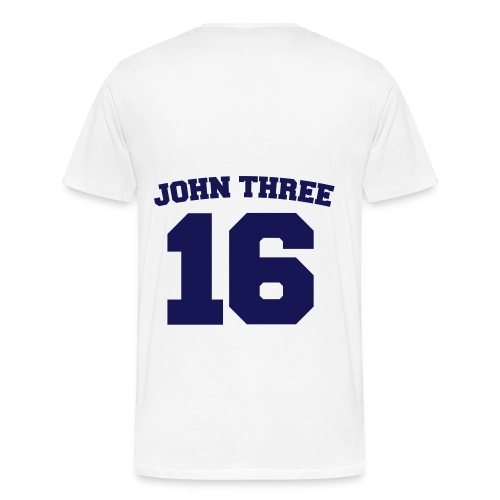 John 3:16 - Men's Premium T-Shirt
