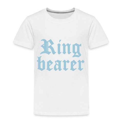 Ring bearer - Toddler Premium T-Shirt