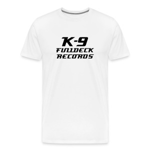 K-9 FULLDECK RECORDS - Men's Premium T-Shirt