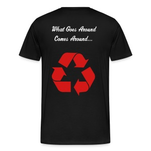 GoEs AroUnD......... - Men's Premium T-Shirt