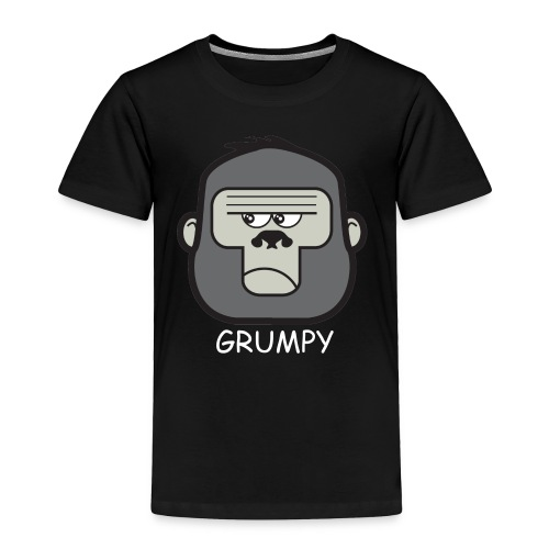 grumpy monkey t shirt - Toddler Premium T-Shirt