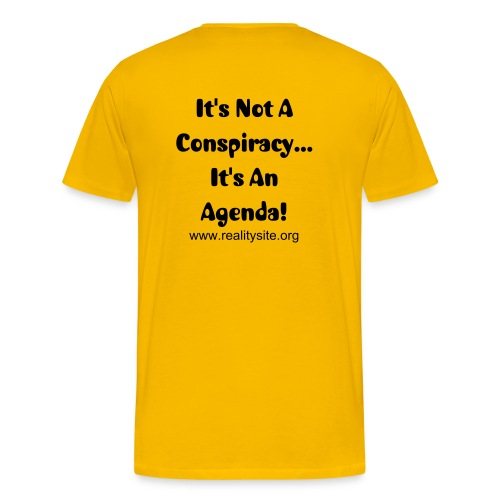 Its an agenda - Men's Premium T-Shirt