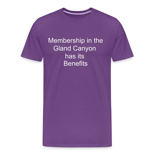 Membership in the Gland Canyon has its Benefits