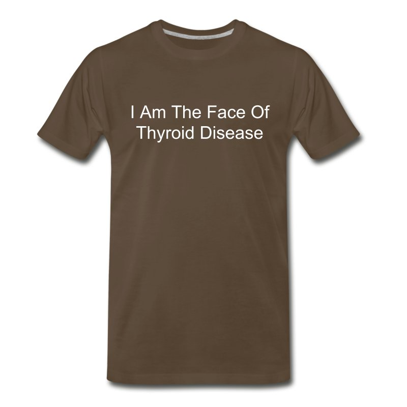 I Am The Face Of Thyroid Disease - Men's Premium T-Shirt