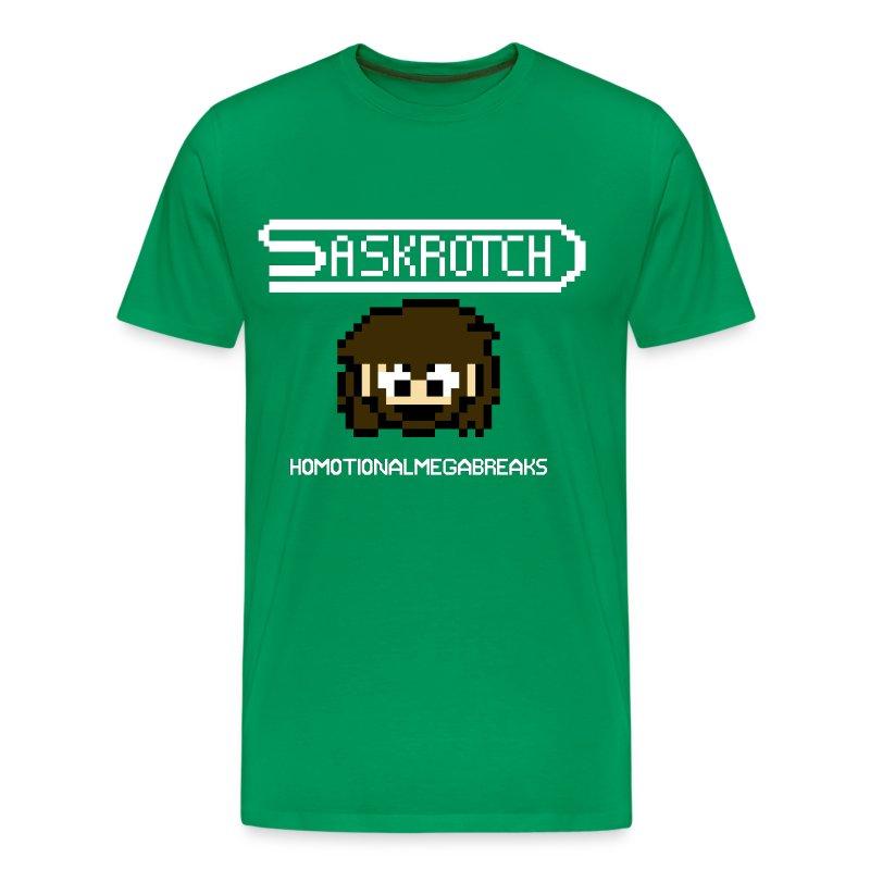 Saskrotch Homotional Mega Breaks - Men's Premium T-Shirt
