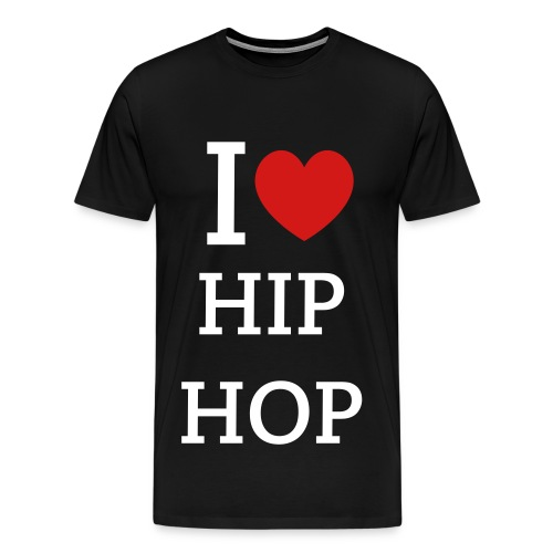I heart HipHop t-shirt - Men's Premium T-Shirt