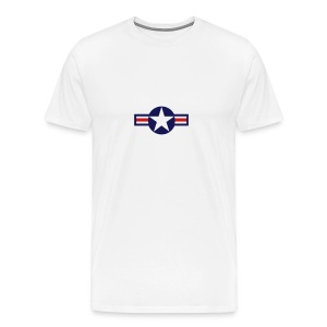 United States Air Force Logo T-Shirt - Men's Premium T-Shirt