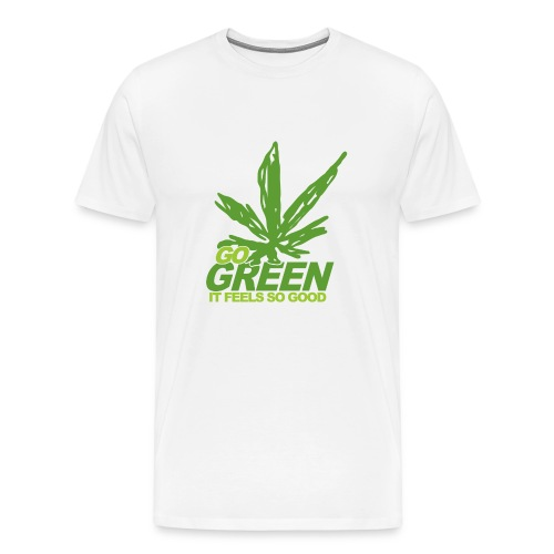 Go Green (Men's) - Men's Premium T-Shirt