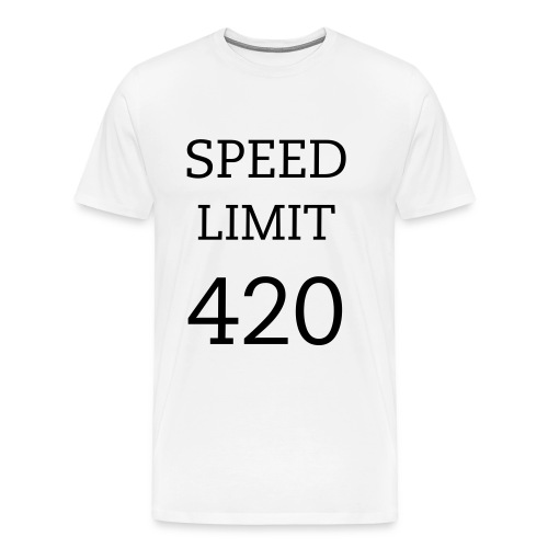 Speed Limit 420 - Men's Premium T-Shirt