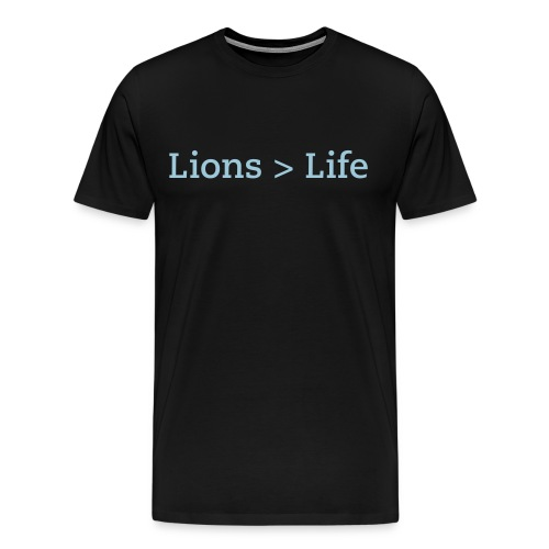 Lion Life - Men's Premium T-Shirt