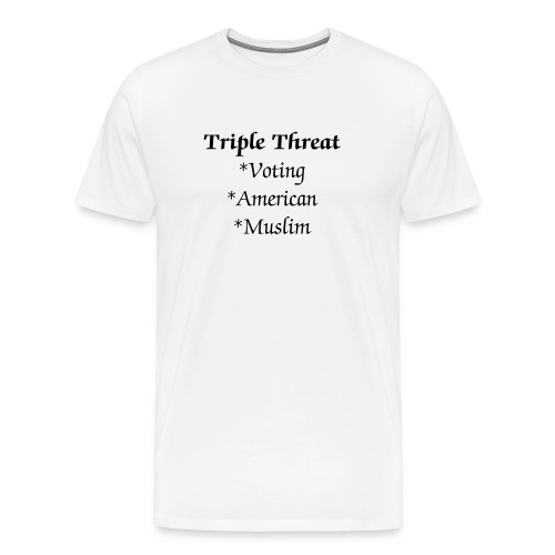 Triple Threat T - Men's Premium T-Shirt