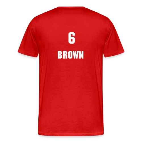 Brown T-Shirt - Men's Premium T-Shirt