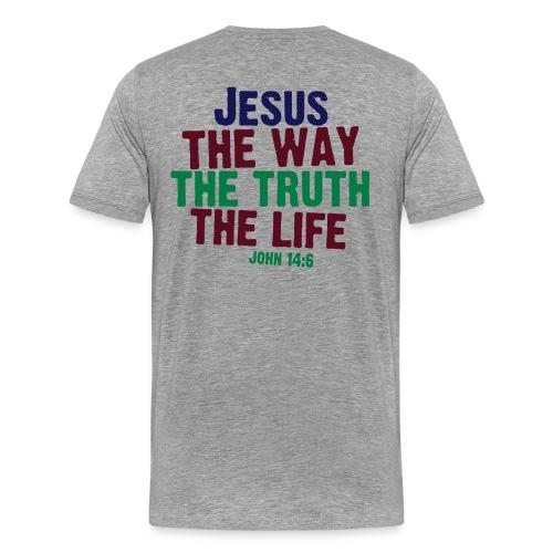 prayer uploading - Men's Premium T-Shirt
