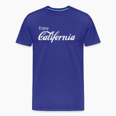 Royal blue california T-Shirts