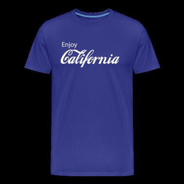 Royal blue california T-Shirts