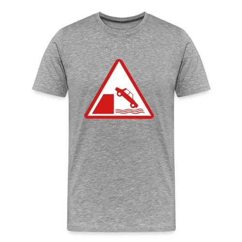 Sage USofAnderson Road Sign T-Shirts - Men's Premium T-Shirt