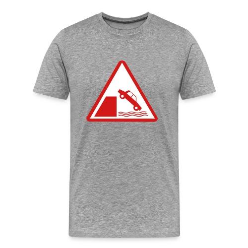 Sage USofAnderson Road Sign T-Shirts - Men's Premium T-Shirt