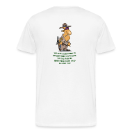 T-Shirts ~ Men's Premium T-Shirt ~ Right to remain silent