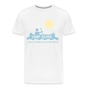 Official CAMP FOR SEXUALLY ACTIVE CHRISTIAN CHILDREN T-shirt - Men  - Men's Premium T-Shirt
