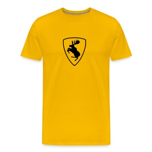 Like Ferrari, just with moose :) - Men's Premium T-Shirt