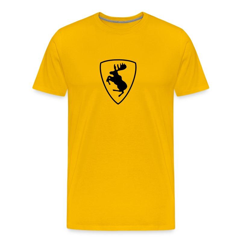 Like Ferrari, just with moose :) - Men's Premium T-Shirt