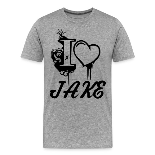 I LOVE JAKE - Men's Premium T-Shirt