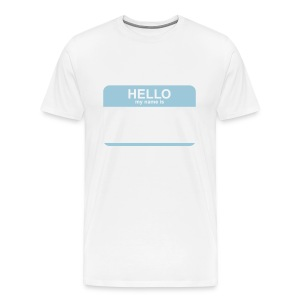 Hello, my name is Tee - Men's Premium T-Shirt