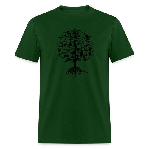 Guitars Tree T-Shirt - Men's T-Shirt