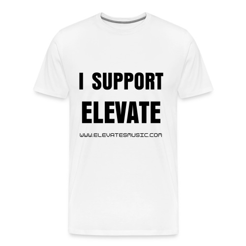 I Support Elevate - Men's Premium T-Shirt