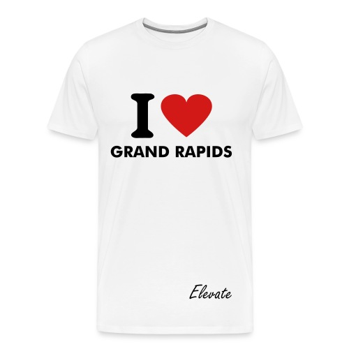 I Love Grand Rapids - Men's Premium T-Shirt