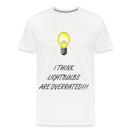 LIGHTBULBS - Men's Premium T-Shirt