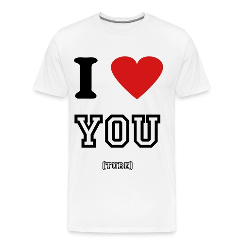 i love youtbe - Men's Premium T-Shirt