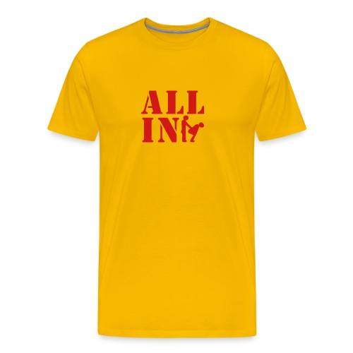 All in red - Men's Premium T-Shirt