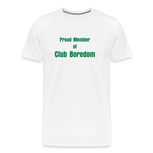 Club Boredom Tee-Men's Heavyweight - Men's Premium T-Shirt